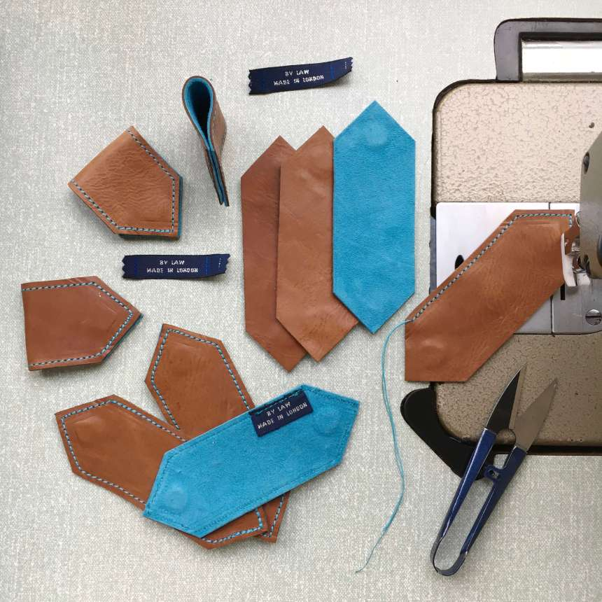 making_tan_leather_bookmarks_by_law
