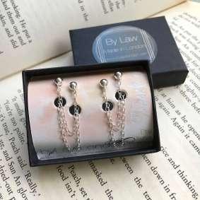 double_chain_earrings_by_law
