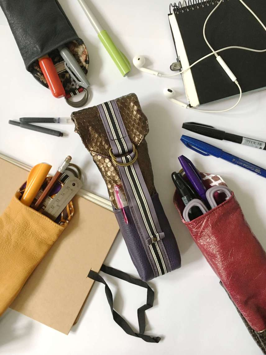bronze_purple_Leather_pencil_cases_by_Law