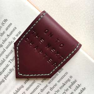 Personalised_Leather_bookmark_by_Law