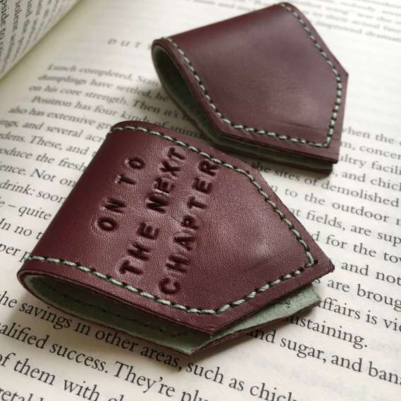 Leather_bookmarks_by_Law