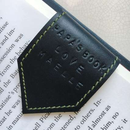 leather_bookmark_fathers_day_papa