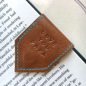 tan_leather_ bookmark_fathers_day